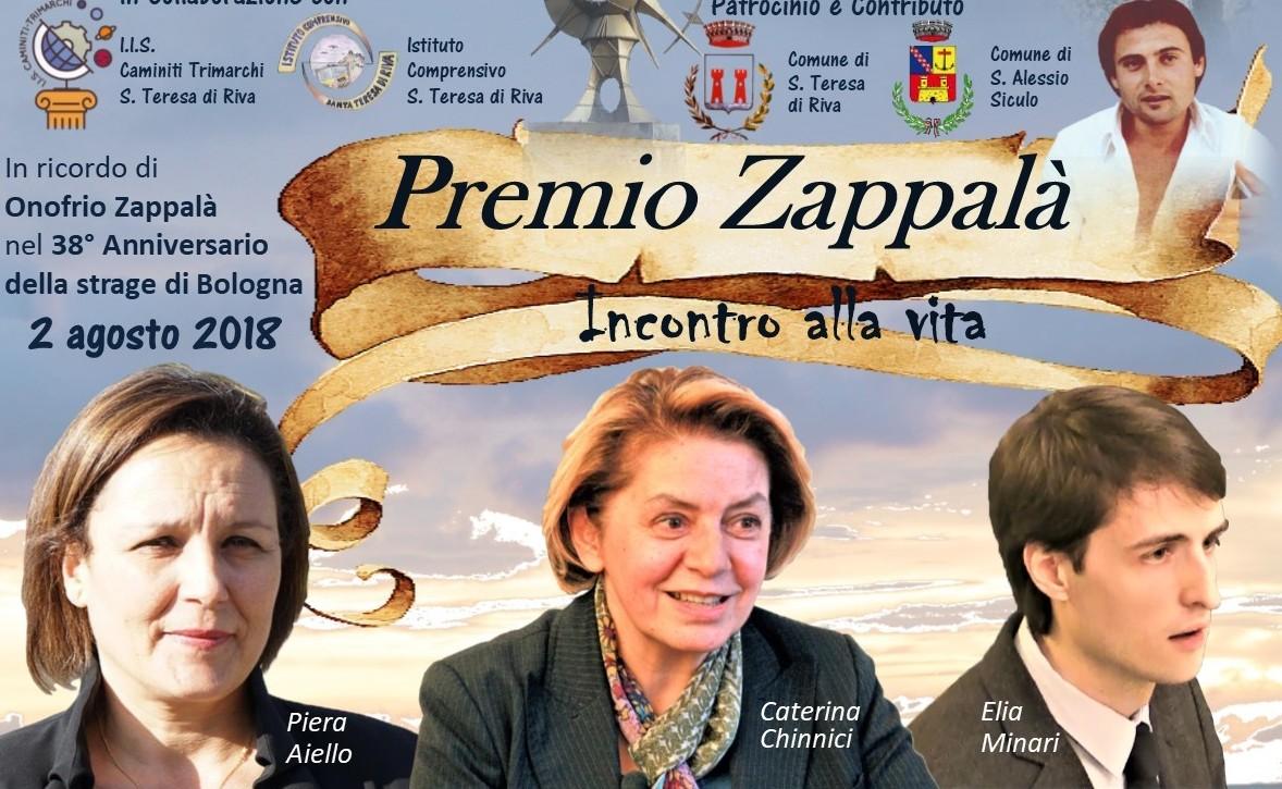 XIII Edizione Premio Zappalà 2018